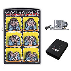 Lighter : Stoned Agin! by Robert Crumb