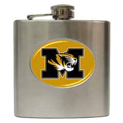 Liquor Hip Flask : Missouri Tigers