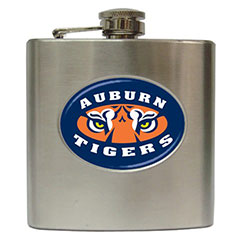 Liquor Hip Flask : Auburn Tigers