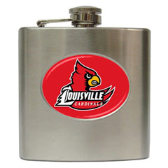 Liquor Hip Flask : Louisville Cardinals