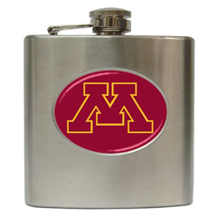 Liquor Hip Flask : Minnesota Golden Gophers