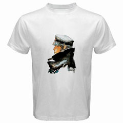 White T-Shirt : Corto Maltese
