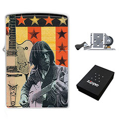 Zippo Lighter : Neil Young - White Falcon