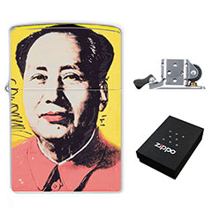 Lighter : Mao Zedong by Andy Warhol