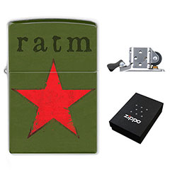 Zippo Lighter : RATM - Rage Against The Machine
