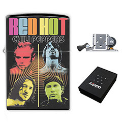 Zippo Lighter : Red Hot Chili Peppers
