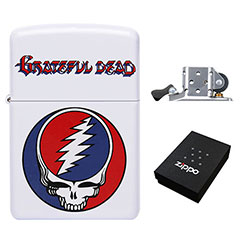 Zippo Lighter : Grateful Dead - Steal Your Face - Classic Stealie
