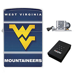 Zippo Lighter : West Virginia Mountaineers