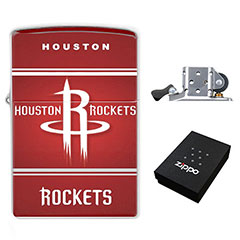 Zippo Lighter : Houston Rockets