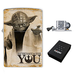 Star Wars - Yoda - May The Force Be With You : (Zippo Style) Lighter