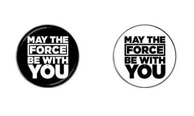 Golf Ball Marker : May The Force Be With You