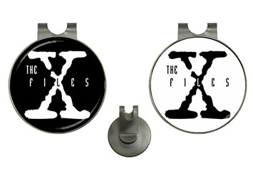 Golf Ball Marker Hat Clips : The X-Files