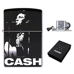 Zippo Lighter : Johnny Cash