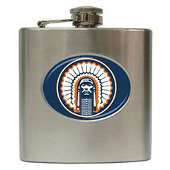Liquor Hip Flask : Fighting Illini