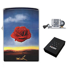 Lighter : Salvador Dali - Meditative Rose