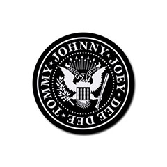 Coasters (4 Pack - Round) : The Ramones