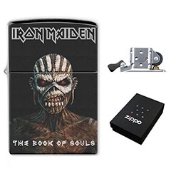 Zippo Lighter : Iron Maiden - the Book of Souls