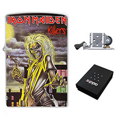 Zippo Lighter : Iron Maiden - Killers
