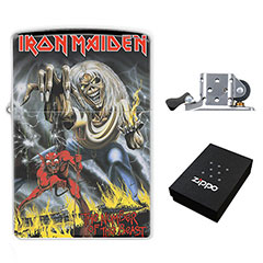 Zippo Lighter : Iron Maiden - the Number of the Beast