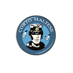 Golf Ball Marker: Corto Maltese