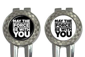 Golf Divot Repair Tool : Star Wars - May The Force Be With You