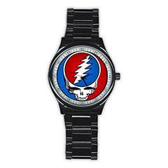 Casual Black Watch : Grateful Dead - Steal Your Face