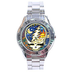 Sport Dial Watch : The Grateful Dead - Steal Your Face - Cosmic - Night & Day