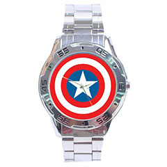 Sport Dial Watch : Captain America Shield