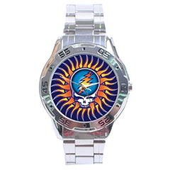 Sport Dial Watch : The Grateful Dead - Steal Your Face - Sun