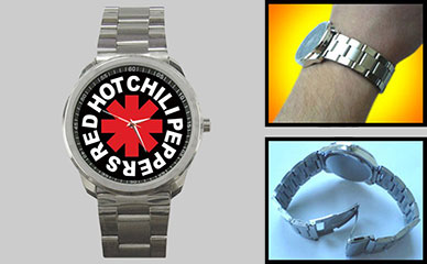 Sport Metal Watch : Red Hot Chili Peppers - RHCP