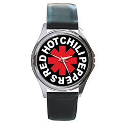 Round Metal Watch : Red Hot Chili Peppers - RHCP