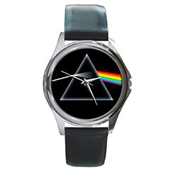 Round Metal Watch : Pink Floyd - The Dark Side of the Moon