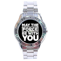 Sport Dial Watch : Star Wars - May The Force Be With You