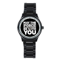 Casual Black Watch : Star Wars - May The Force Be With You