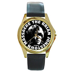Round Gold-Tone Metal Watch : The Brian Jonestown Massacre