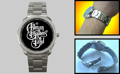 Sport Metal Watch : The Allman Brothers Band