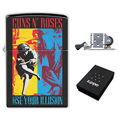 Zippo Lighter : Guns N' Roses - Use Your Illusion