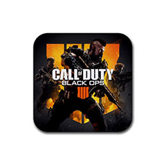 Square Rubber Coasters : Call of Duty - Black Ops