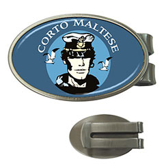 Money Clip (Oval) : Corto Maltese