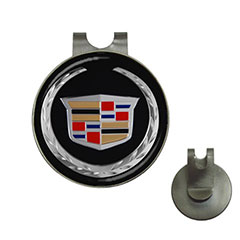 Golf Ball Marker Hat Clips : Cadillac