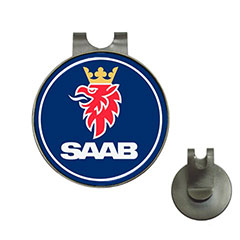 Golf Ball Marker Hat Clips : Saab