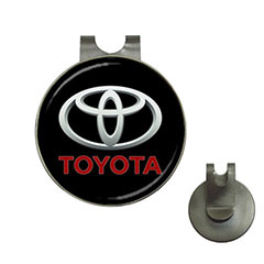 Golf Ball Marker Hat Clips : Toyota