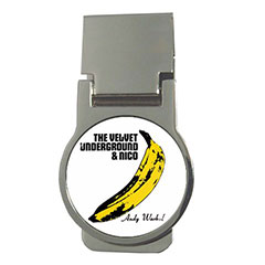 Money Clip (Round) : The Velvet Underground & Nico - Banana - Andy Warhol