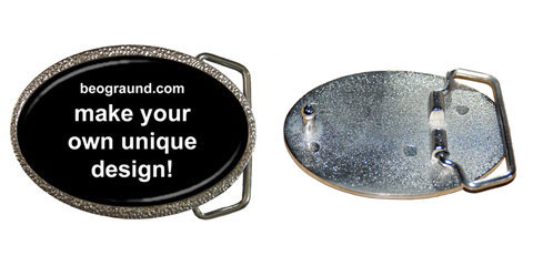 Belt Buckle - Custom Design