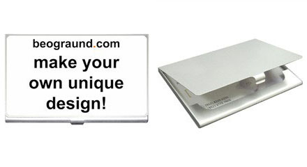 Business Card Holder - Credit Card Case : Custom Design