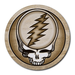 Mousepad : Grateful Dead - Steal Your Face - Sandstone