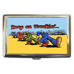 Cigarette Case : Keep on Truckin'