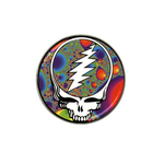 Golf Ball Marker : Grateful Dead - Steal Your Face - Fractal