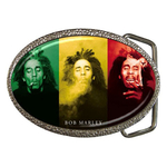 Belt Buckle : Bob Marley - Smoke