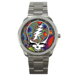 Casual Sport Watch : Grateful Dead - Steal Your Face - Fractal